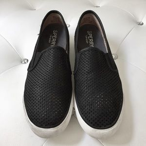 Sperry Topsider Seaside Perforated Slip-On Sneaker